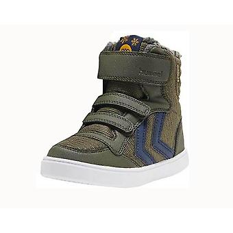 Hummel stadil poly forrest night green waterproof high-tops