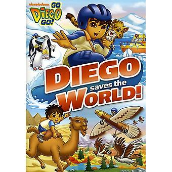 Go Diego Go! - Diego Saves the World [DVD] USA import