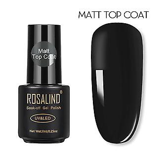 Top Coat Nail Polish Lacquer- Semi Permanent Soak Off Uv Gel Nail Polish