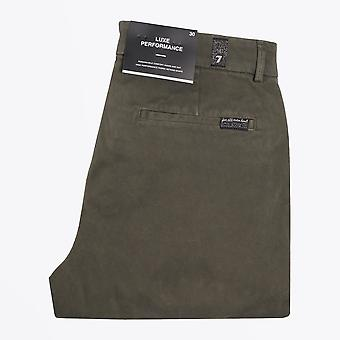 7 For All Mankind - Slimmy Luxe Chinos - Groen