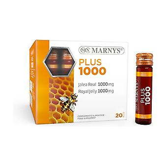 Plus 1000 Royal Jelly 20 vials of 1000mg