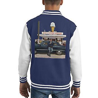 De zaterdagavond Post Ice Cream Politieagent Kid's Varsity Jacket