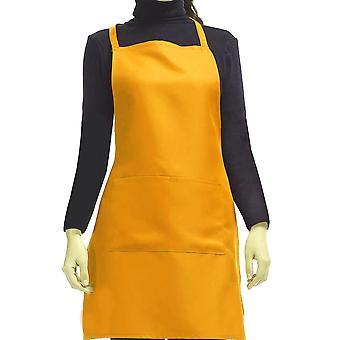 Cuisine Cuite diy flat tablier orange 65x75cm
