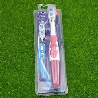 Profesjonalna pielęgnacja elektryczna szczoteczka do zębów - 2 głowice obrotowa brush dental