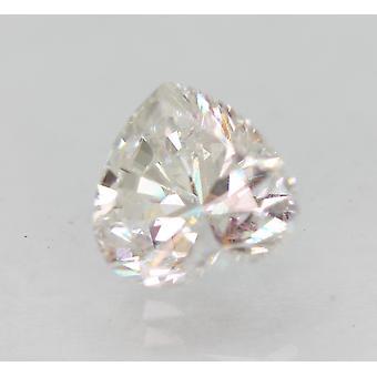 معتمد 1.79 قيراط F VVS2 القلب المحسن الطبيعية فضفاضة الماس 7.82x7.38mm