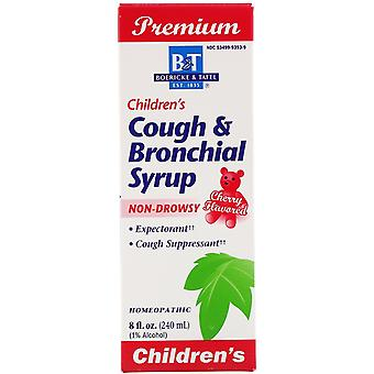 Boericke & Tafel, Premium, Children's Cough & Bronchial Syrup, Cherry Flavored,