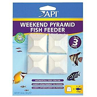 Aquariano O alimentador de peixe pirâmide de 3 dias