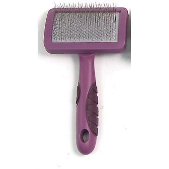 Rosewood Soft Protection Salon Slicker Brush - Grande