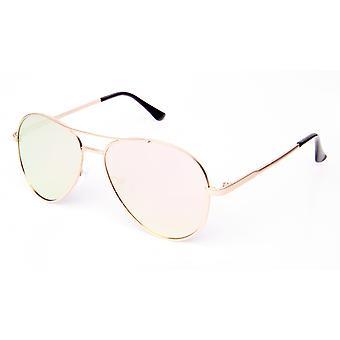 Solglasögon Unisex Pilot rosa/guld (PZ20-009)