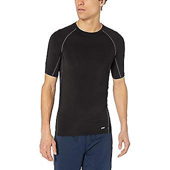 Essentials Men's Control Tech Tričko s krátkym rukávom, čierna, X-Small