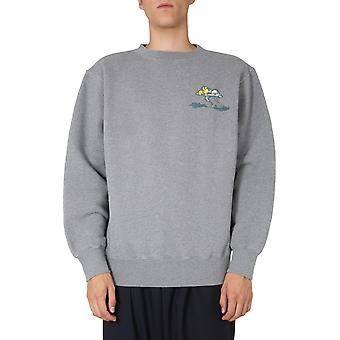 Marni Fumu0061p0s2354300n41 Men's Grey Cotton Sweatshirt