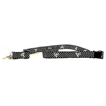 Pittsburgh Penguins NHL Polka Dot Lanyard