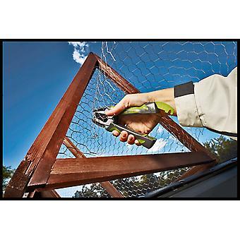 Rapid VR16 Fence Hog Rings Pack 400 Galvanised RPDVR16GA400