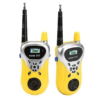 Walkie Talkie Phone Toys For Kids Portable Two-way Walkie-talkies Toy Long Range Parent-child Interactive Game Gift