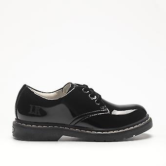 Lelli Kelly Girls Rochelle LK8287 Black Patent School Shoes