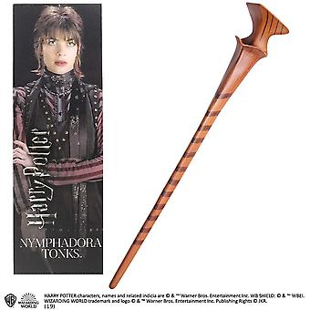 Noble Collection PVC Nymphadora Tonks Baguette magique & Ensemble de signets