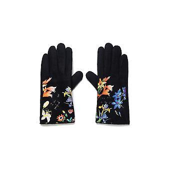 Desigual kukkaiset käsineet 20WAAK05