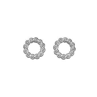 Emozioni Sterling Silver Cubic Zirconi Innocence Earrings EE030