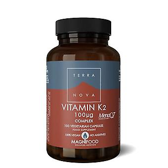 Terranova vitamine K2 100ug Complex Vegicaps 100 (T0561)