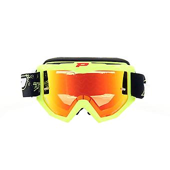 Progrip 3204FLYL Progrip Goggles - 3204 Fluorescent Yellow