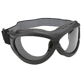 Pacific Coast 4595 « The Beast » Black masques - Clear Lens