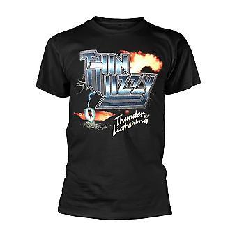 Tynd Lizzy Thunder og Lightning T shirt