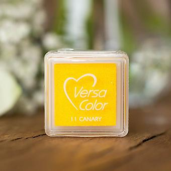 Versasmall Canary Yellow Pigment Small Ink Pad Pigment Ink Craft Ink