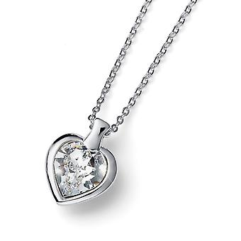 Oliver Weber Pendant Heart Small Rh Cry