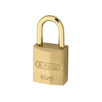 ABUS 65MB/30mm Solid Brass Padlock 70mm Long Shackle Carded ABU65MB3070C