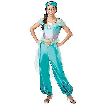 Disney Halloween Fancy Dress Costume Adult Female - Aladdin - Princess Jasmine