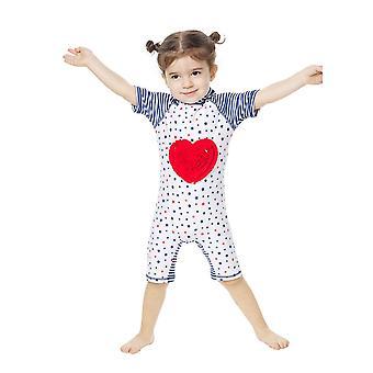 Bonverano Baby Girls UPF 50 + Aurinkosuoja Vetoketju Aurinkopuku