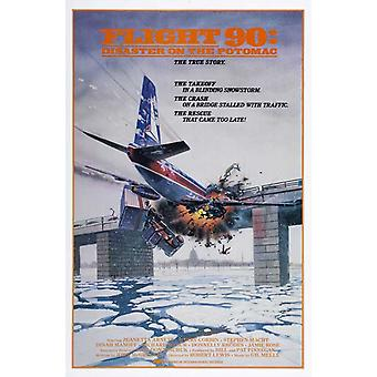 Flight 90 Disaster on the Potomac Movie Poster (11 x 17)