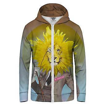 Pan GUGU & Miss GO Dandy Lion Bluza z kapturem Kangaroo Zip Up