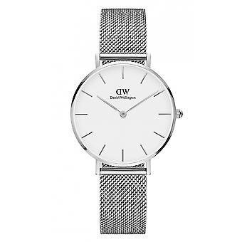 Daniel Wellington DW00100164 Classic Sterling Petite Steel Mesh Wristwatch