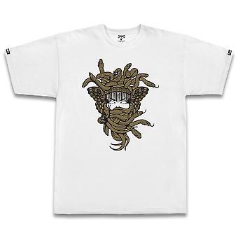 Crooks & Castles Gold OG Medusa T-shirt White