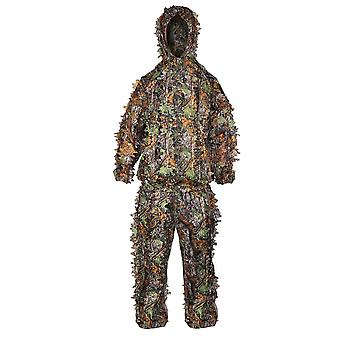 Ghillie Suits 3d Leaves Hunting Clothes Bionic Yowie Sniper Airsoft Camouflage