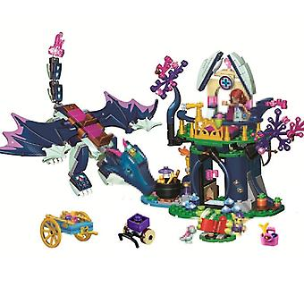 Elves Dragon Rosalyn Healing Hideout Building Blocks For,, Compatible,
