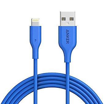 Anker-Iphone-Kabel, Powerline-Blitz-Apfel-zertifiziertes Kabel (6ft) Schwere Aramidfaser Verstärkung wom30761
