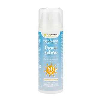 High protection sun cream for children and sensitive skin SPF 50 Without Chemical Filters 125 ml of cream