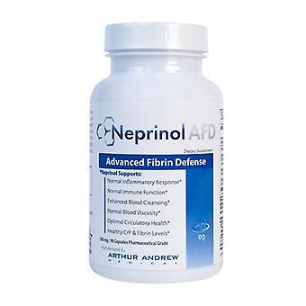 Neprinol AFD - Skuteczne dla penisa krzywizny - 90 x 500mg Kapsułki - Klinicznie testowane - Naturalne - Brak skutków ubocznych - Działa w celu złagodzenia blizny