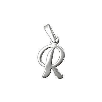 Anhänger Initial R Silber 925
