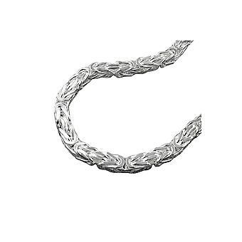 Halskjede Bysantinsk Kjede 6x6mm Sølv 925 80cm
