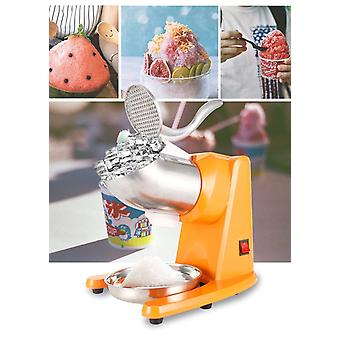 Stainless Steel Electric Ice Crusher, Double Blade Smoothie Slush Block