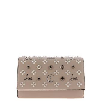 Christian Louboutin 1175018p545 Women's Pink Leather Clutch