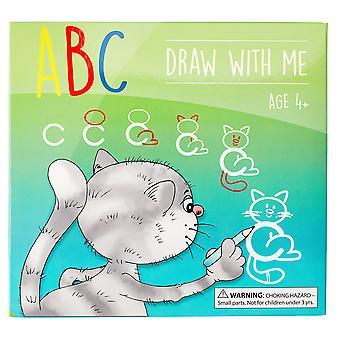 Md kreative abc zeichnen mit mir wischen saubere Alphabet Flash-Karten große Geburtstagsgeschenk geschenk für Mädchen b