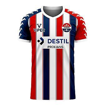 Willem II 2020-2021 Hem Koncept Fotboll Kit (Viper)