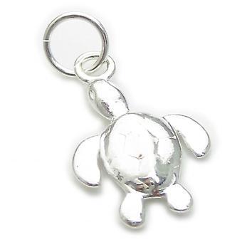 Tiny Turtle Sterling Srebrny Urok .925 X 1 Żółwie Uroki - 7058