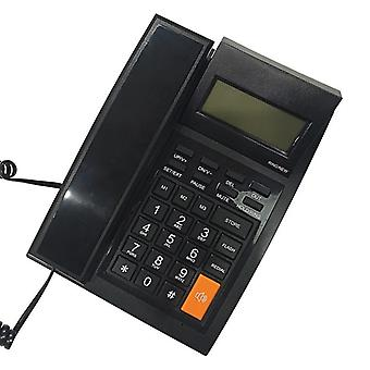 DAERXIN M64 Desktop Corded Fixed Telephone Landline Phone Compatible with FSK/DTMF with LCD Display