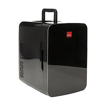 Sensio Home 10L Mini Fridge Cooler & Warmer | AC+DC Power - 12v, UK & EU Plug | Compact, Portable and Quiet (Midnight Black)