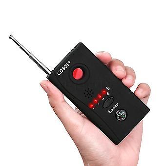 Cc308- Feldetektor, Eu Strömadapter, Mini trådlös kamera dold, Gsm-enhet
